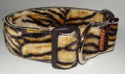 Fellhalsband tiger small
