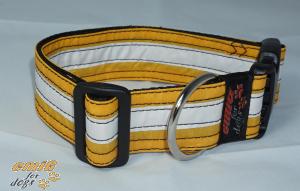 Unikat Hundehalsband kite yellow