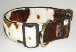 Fellhalsband cow brown