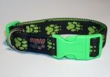 NE Hunde Halsband gump 2,5cm