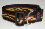 NE Hunde Halsband FIRE 4cm