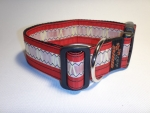 Unikat Hundehalsband red XL