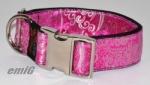 LE Hunde Halsband avantgarde pink