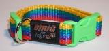 NE Hunde Halsband Regenbogen 2,0