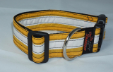 Unikat Hundehalsband kite yellow