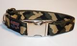 NE Hunde Halsband camouflage classic (26/25)