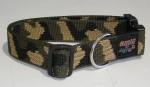 NE Hunde Halsband camouflage 30